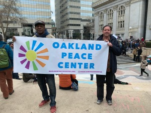 Oakland protest, Martin Luther King Day, 20 Jan 2020