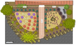 Willow Glen Garden Redesign Plan 17 June 2015