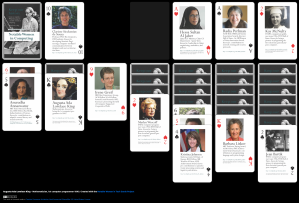 Solitaired Notable Women card game, Screen Shot 2020-03-17