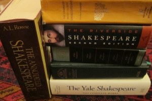 2012 Katy's Shakespeare books
