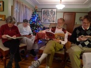 2013 Dickens reading, Christmas Carol