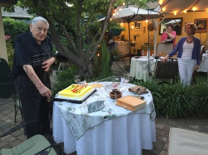 2016 Shakespeare reading and 90th birthday party
