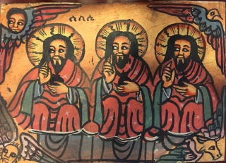 Ethiopian Orthodox Trinity Icon 2016