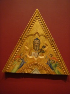 Giotto - God the Father with Angels