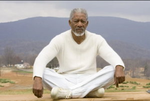 Morgan Freeman as God