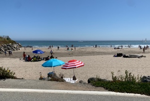 Capitola beach 4 July 2020