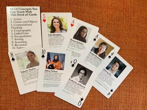 Notable Technical Women cards 2019