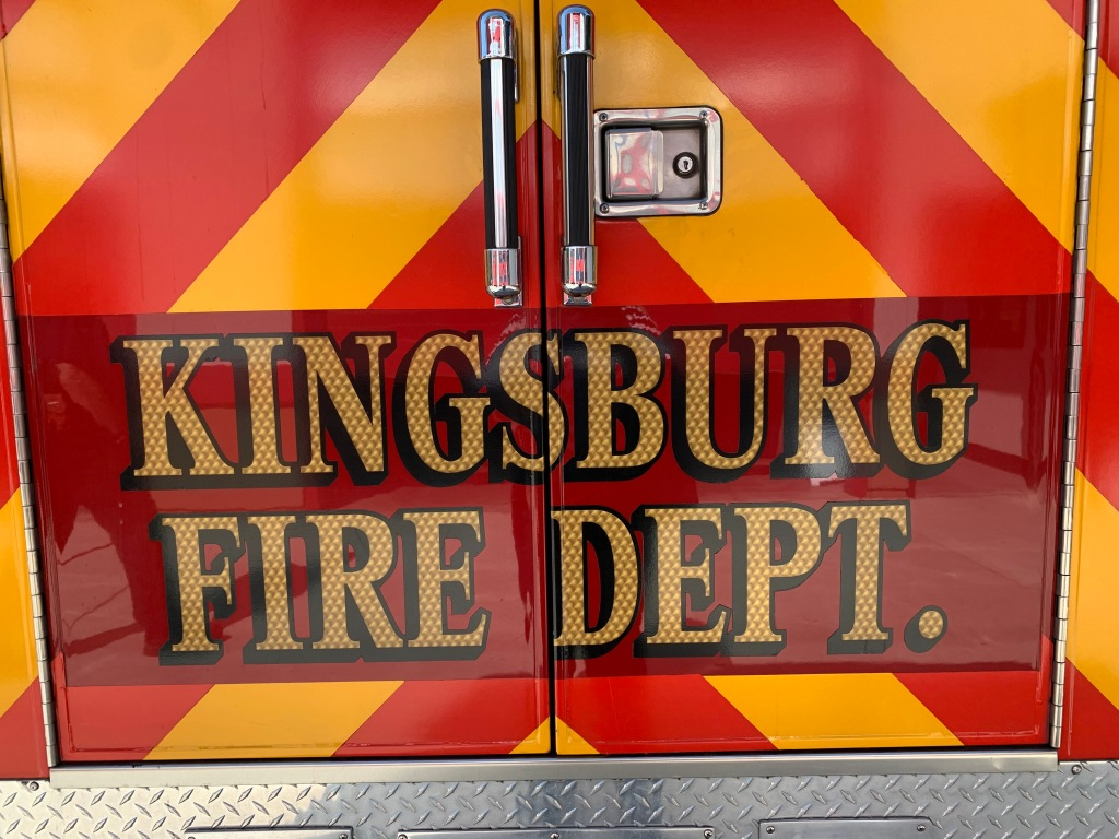 Kingsburg Fire Dept. 23 April 2021
