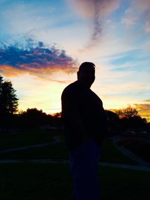 Daniel Vega Martinez 1969-2021, sunset, from Peggy Bryan