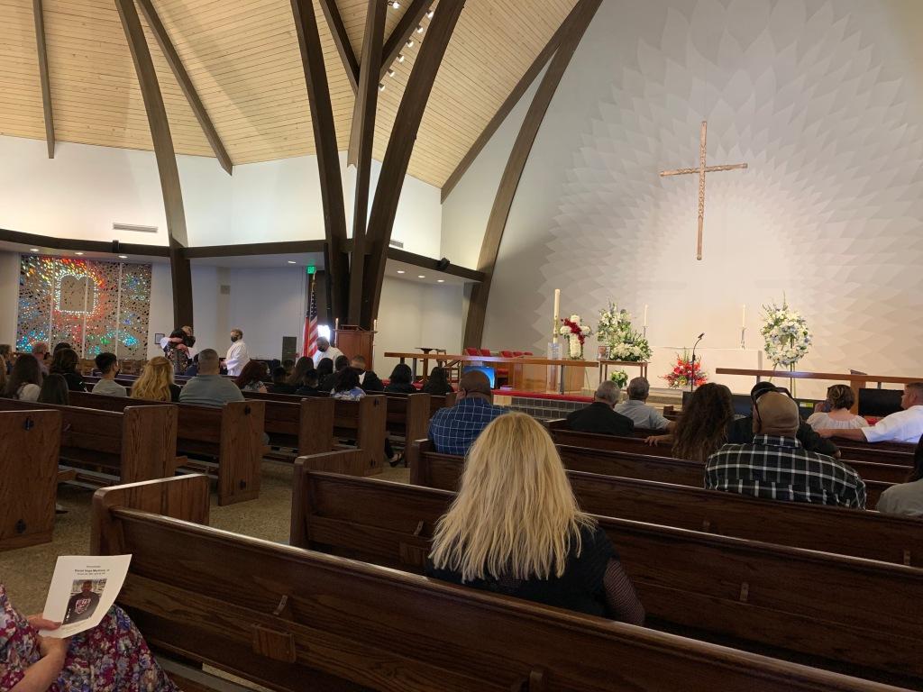 Daniel Martinez memorial, St. Andrew's Episcopal Church, 30 May 2021