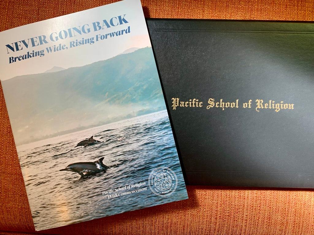 PSR graduation program and folder May 2021
